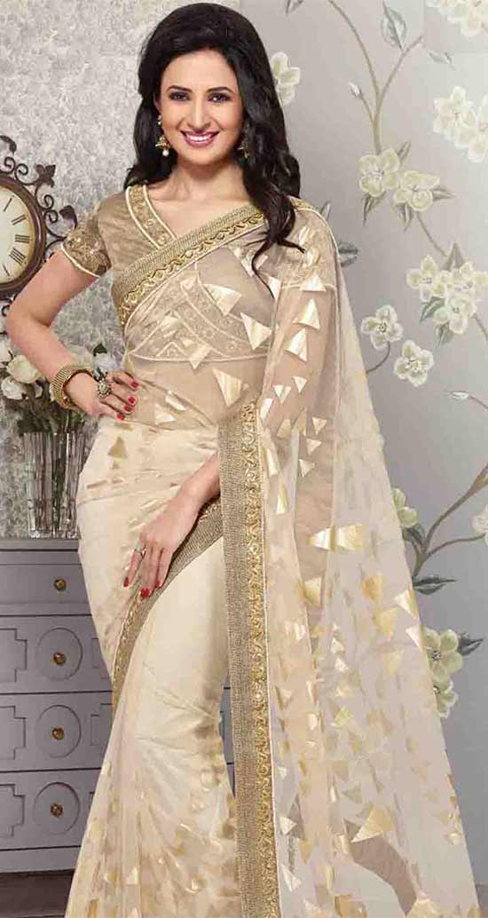 Divyanka-Tripathi-Angelic-Light-Beige-Net-Saree