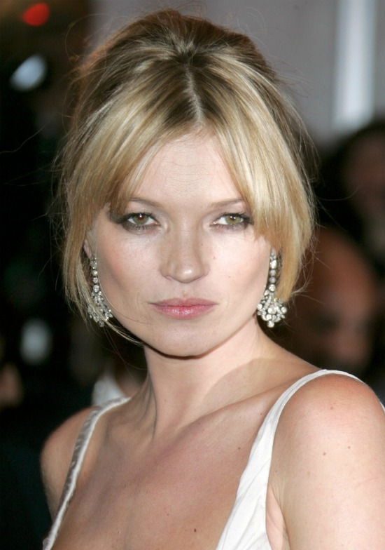 Kate Moss Bridal Hairstyle