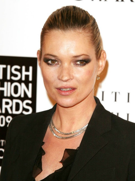 Kate Moss Chic Updo