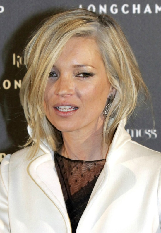 Kate Moss Gray Hair