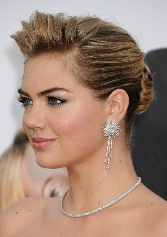 Kate Upton Formal Updo Hairstyle
