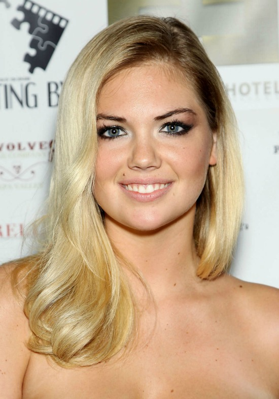 Kate Upton Long Side Part Hairstyle