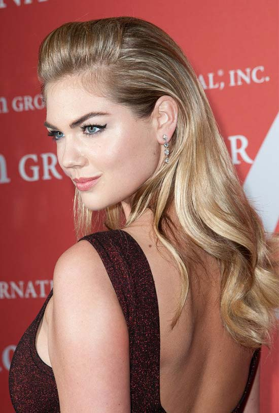Kate Upton Long-Wavy-HairCut