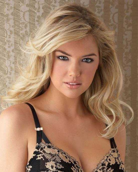Kate Upton Medium-Hairstyles