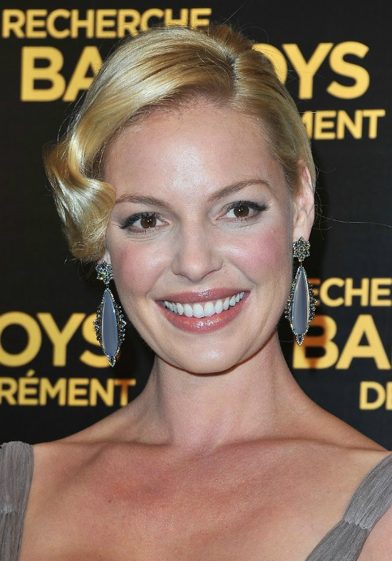 Katherine Heigl Bob and Shingle Cut