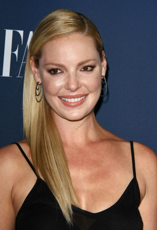 Katherine Heigl Long Sleek Hair