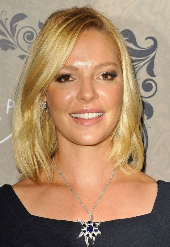 Katherine Heigl Medium Bob Hairstyle