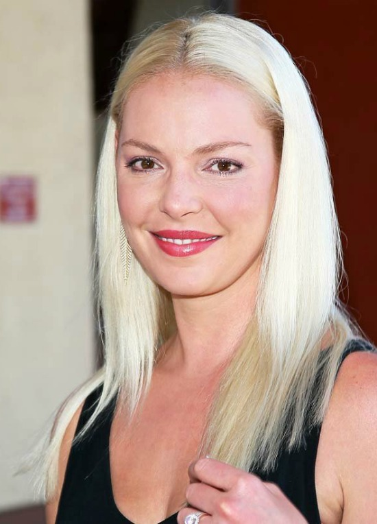 Katherine Heigl Medium Straight Hair
