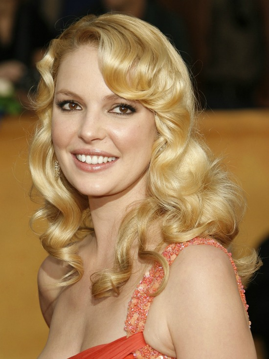 Katherine Heigl Prom Hairstyle