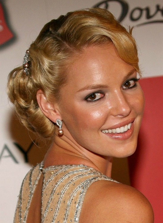 Katherine Heigl Retro Updo