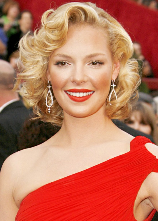 Katherine Heigl Short Wave Hairstyle