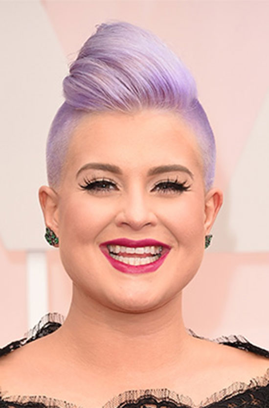 Kelly Osbourne Side Cut