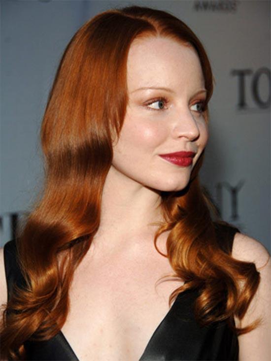 Lauren Ambrise Light copper hair