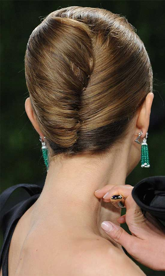 Lauren Ambrose Side-Updo-Hair-Style