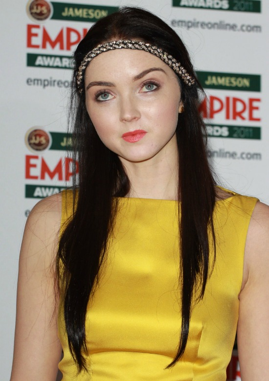 Lily Cole Long Straight Cut
