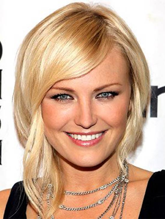 Malin Akerman Edgy-Ponytail