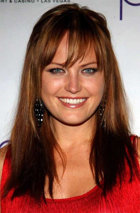 Malin Akerman Long-Hairstyle--Red-Hair-with-Wispy-Bangs