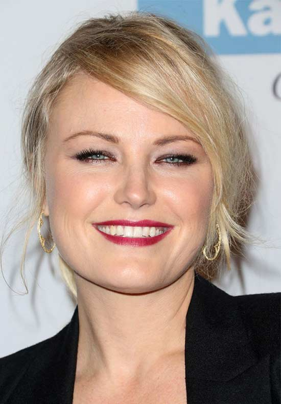 Malin Akerman Loose-Ponytail