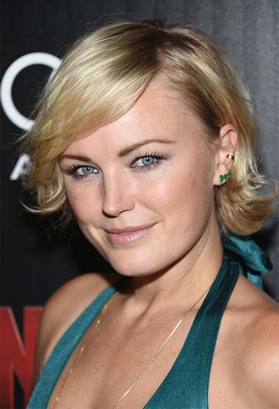 Malin Akerman Short-Side-Part