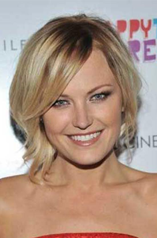 Malin Akerman Short-hair-cut