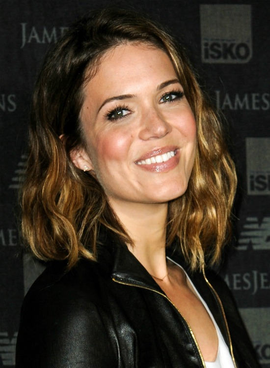 Mandy Moore Curly Bob Haircut