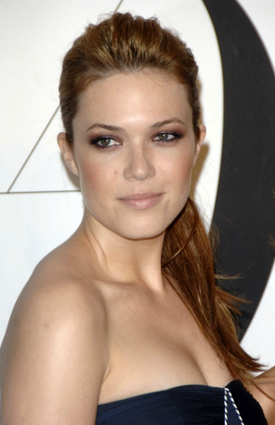 Mandy Moore Long Ponytail