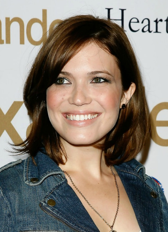 Mandy Moore Short Bob