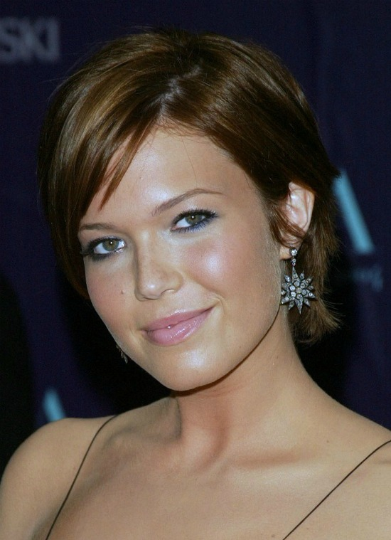 Mandy Moore Very Short Haircut