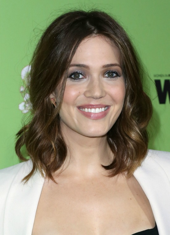 Mandy Moore Wavy Bob Haircut