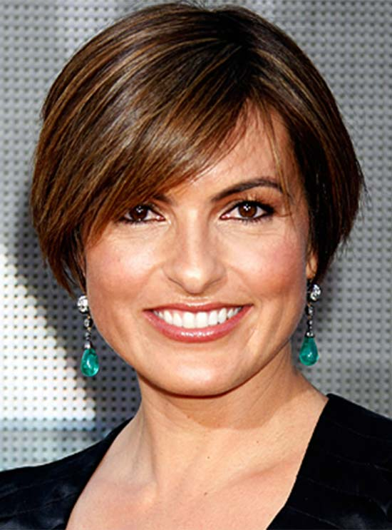 Mariska Hargiaty Short hairstyle