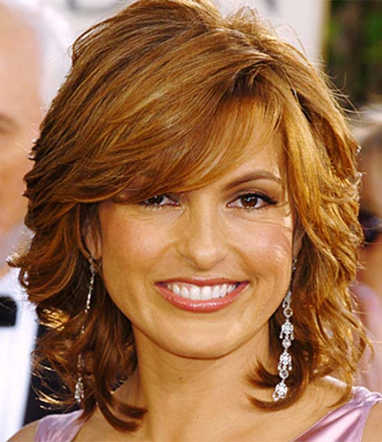 Mariska Hargitay Medium-Carmel-Hair