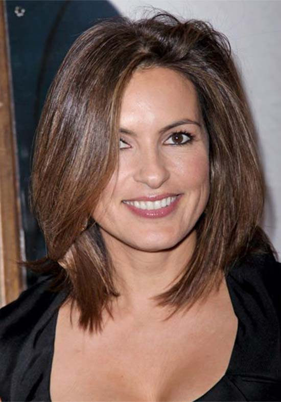 Mariska Hargitay Medium bob hair