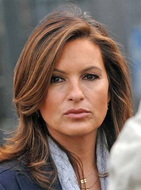 Mariska Hargitay Messy-french-twists