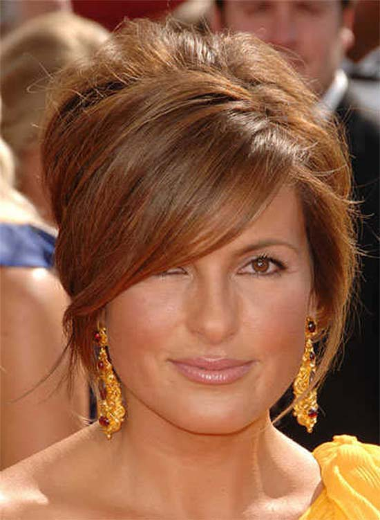 Mariska Hargitay short-hair-with-long-bangs