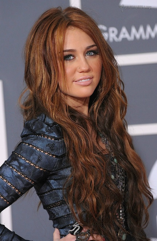 Miley Cyrus Brown Hair