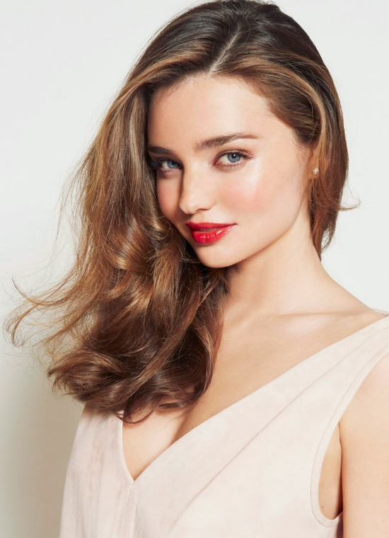 Miranda Kerr Brown Hairstyle