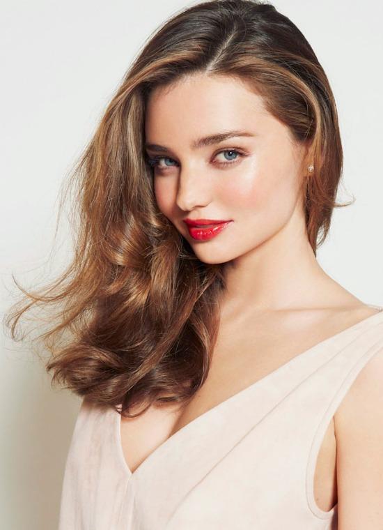Miranda Kerr Brown Hairstyle
