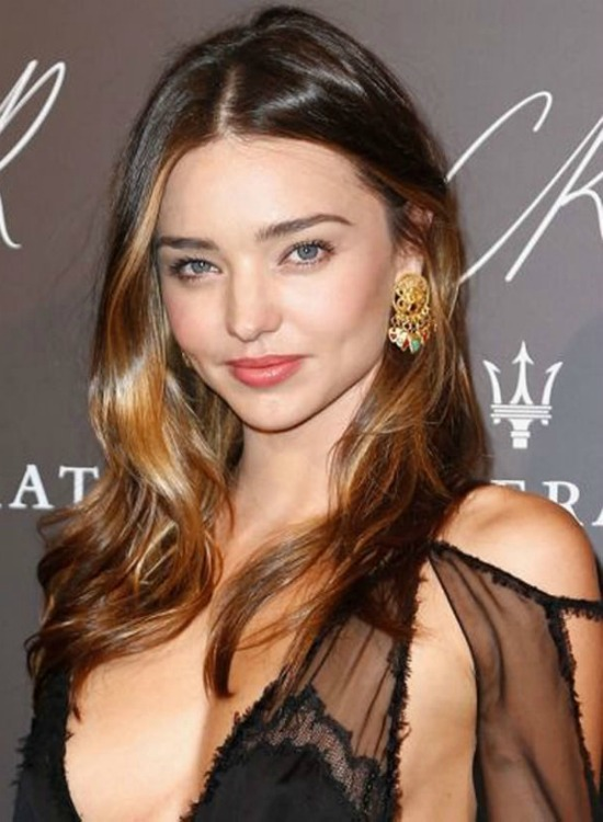 Miranda Kerr Golden Brown Hair