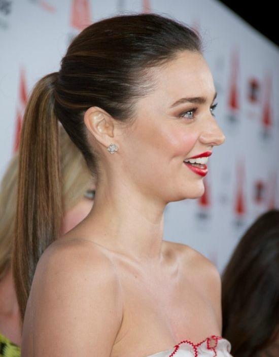 Miranda Kerr Ponytail Hairstyle