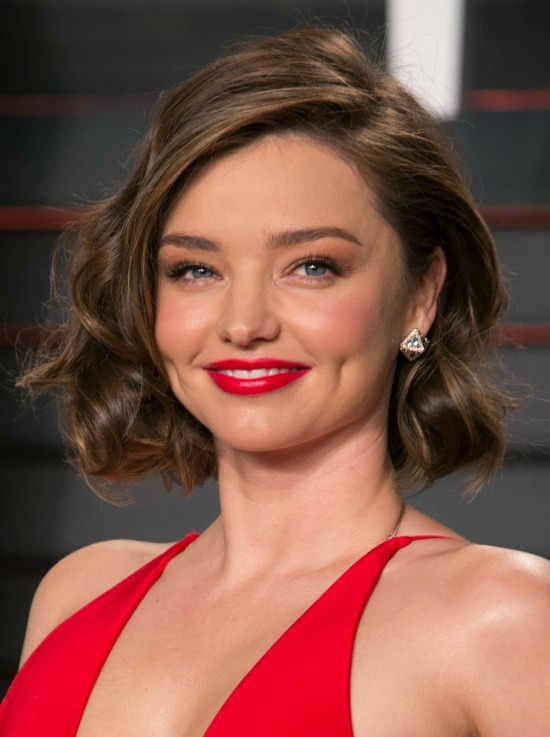 Miranda Kerr Short Layered Hair