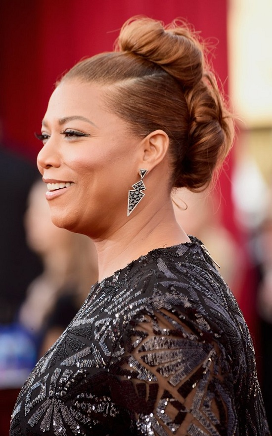 Queen Latifah BRided Updo