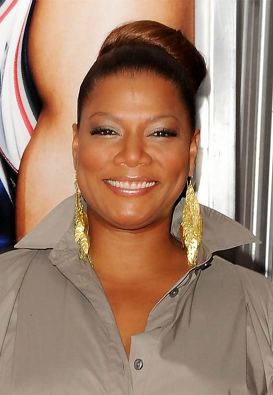 Queen Latifah Bun Updos Hairut
