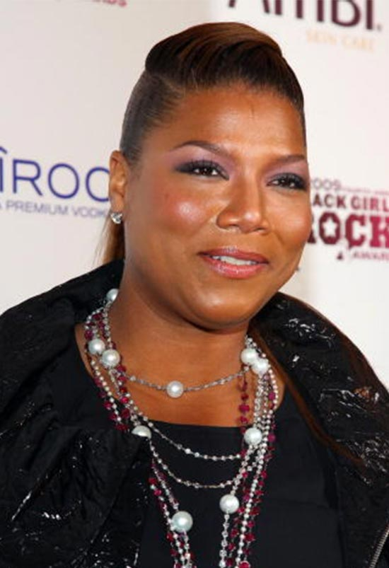 Queen Latifah Puff Hairstyle