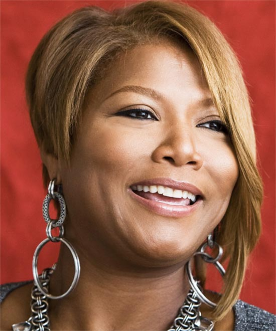 Queen Latifah short hair