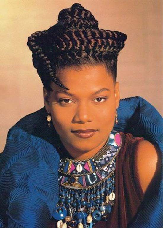 Queen Latifah braids tumblr Haircut