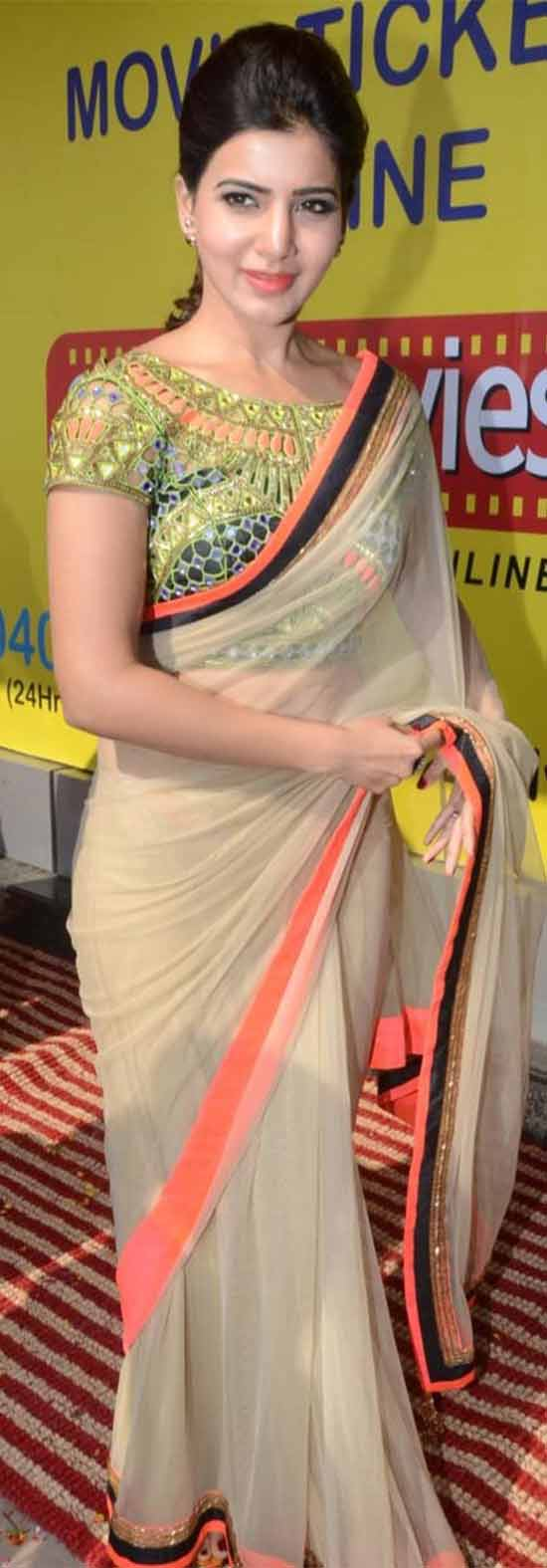 Samantha-In-Arpita-saree