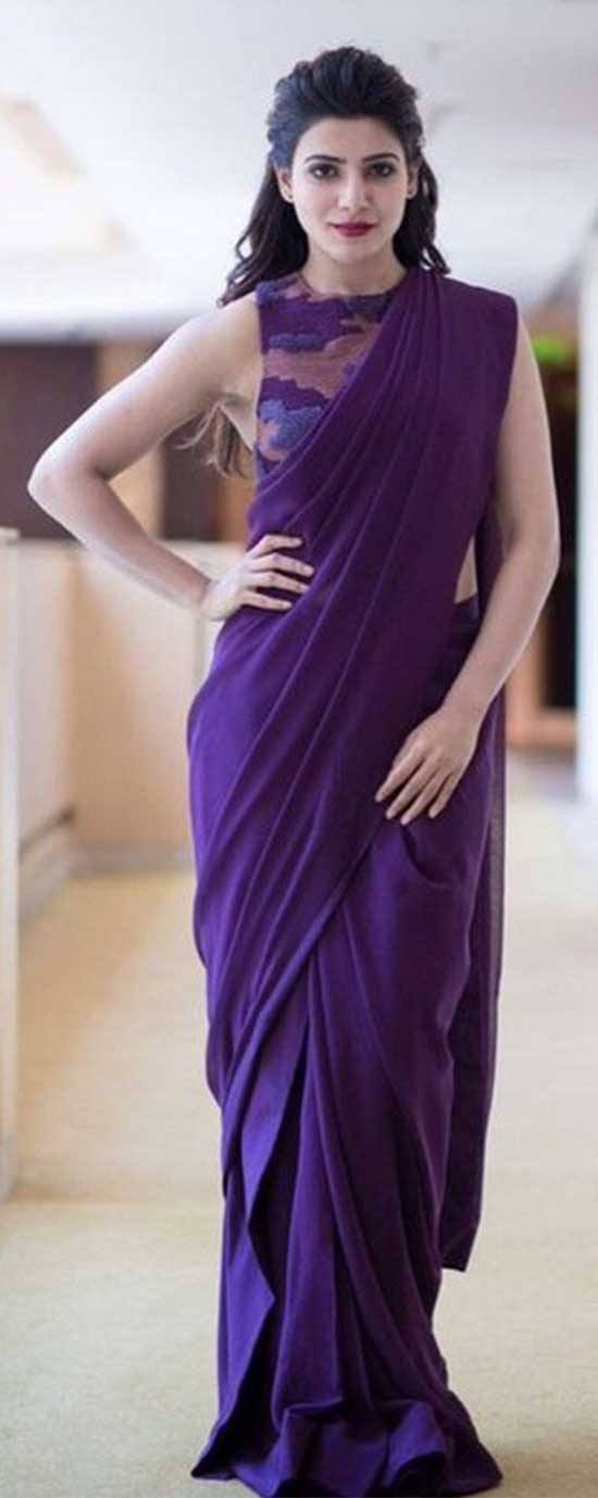 Samantha-In-Designer-Saree