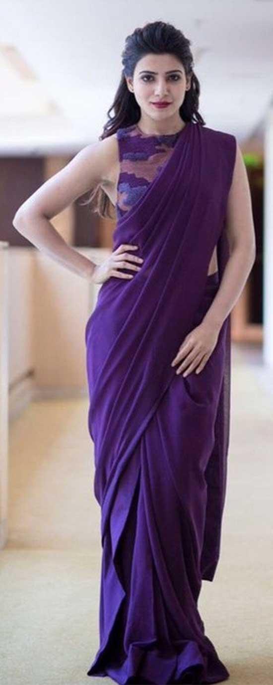 Samantha-In-Designer-Saree