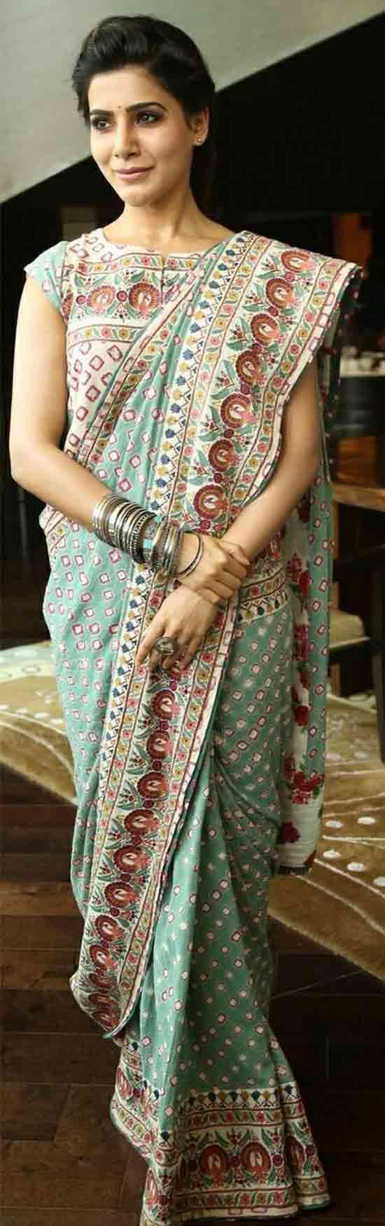 Samantha-Ruth-Prabhu-In-Designer-Saree