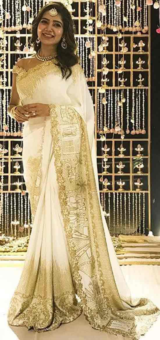 Samantha-Ruth-Prabhu-with-her-love-story-engagement-saree